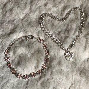 💸$5 Add On💸 Disney & Floral Purple Bracelets